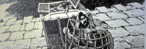 Paul in basket