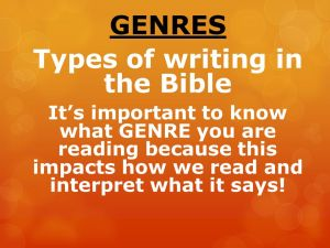 Types+of+writing+in+the+Bible