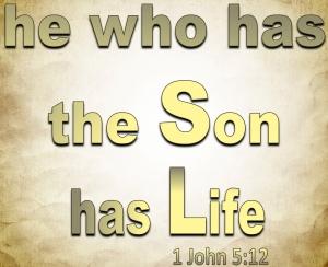 1 John 5 12