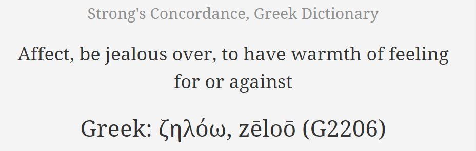1 Cor 13 - envy
